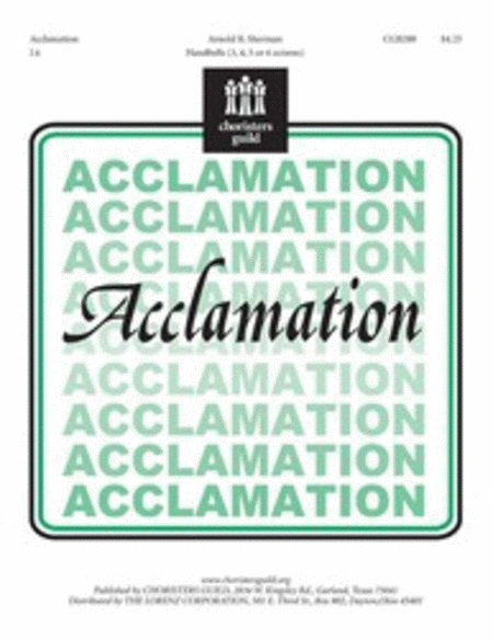 Cover of Acclamation