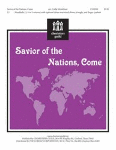 Cover of Savior of the Nations Come
