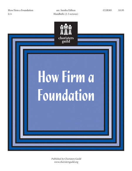 Cover of How Firm a Foundation