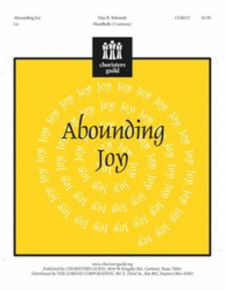 Cover of Abounding Joy