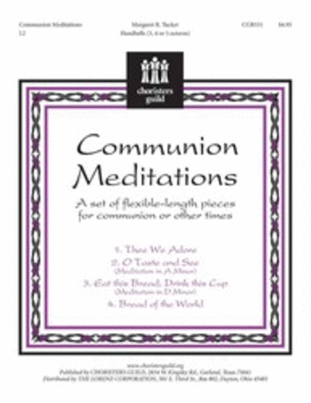 Cover of Communion Meditations