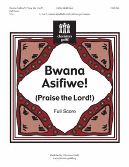 Cover of Bwana Asifiwe! - Full Score