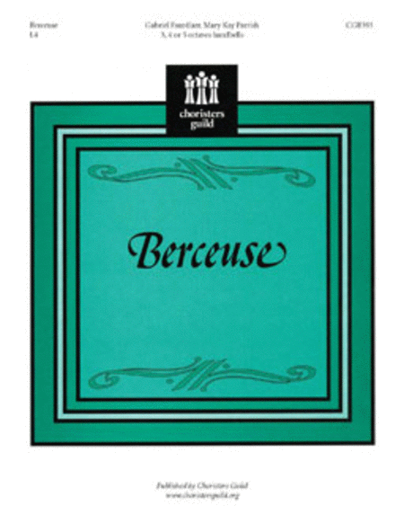 Cover of Berceuse
