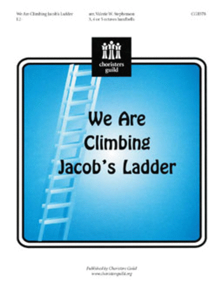 Cover of We Are Climbing Jacob's Ladder