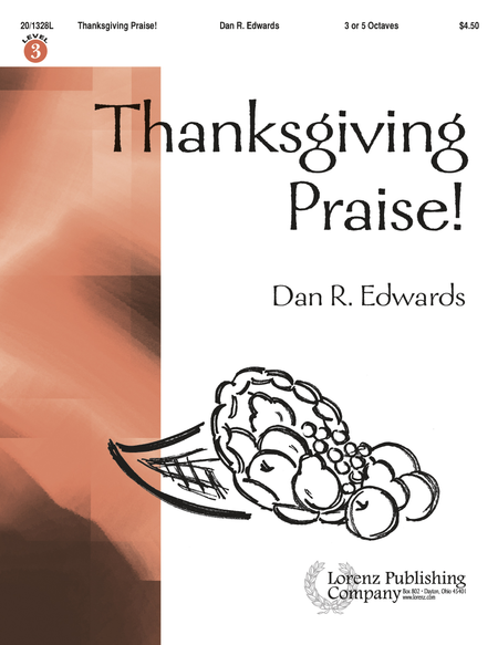 Cover of Thanksgiving Praise!