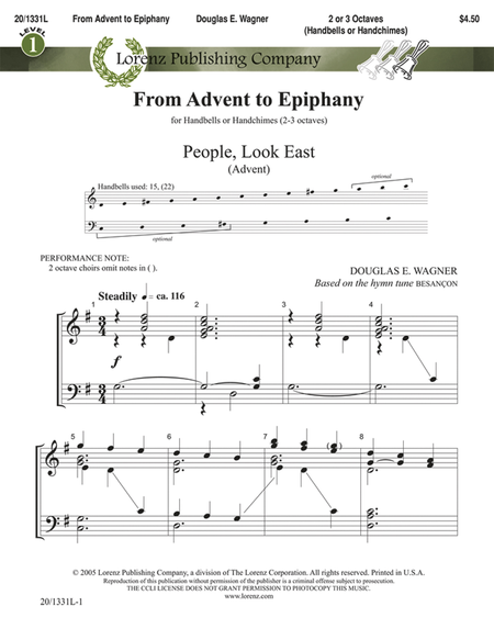 Cover of From Advent to Epiphany