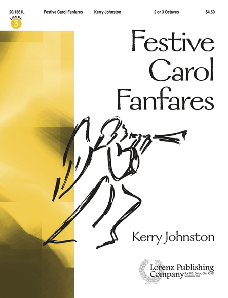 Cover of Festive Carol Fanfares