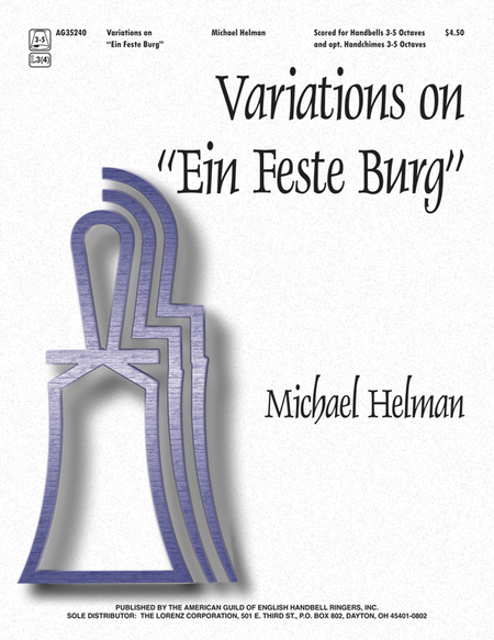 "Cover of Variations on ""Ein Feste Burg"""