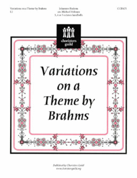 Cover of Variations on a Theme by Brahms