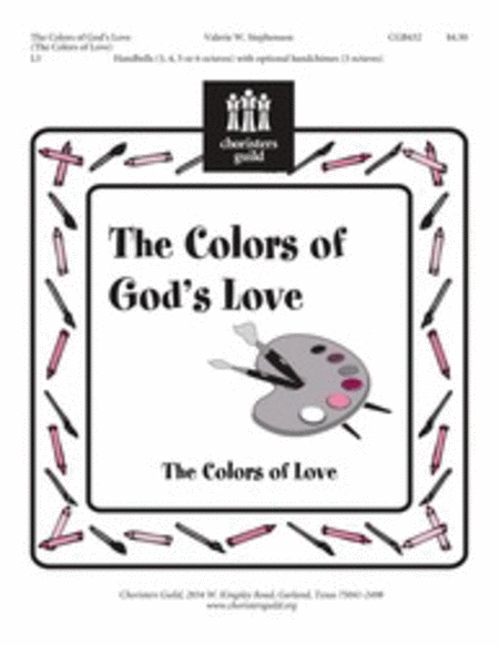 Cover of The Colors of God's Love (The Colors of Love)