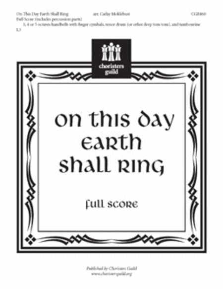 Cover of On This Day Earth Shall Ring - Full Score and Parts
