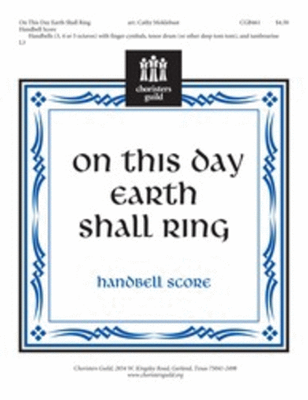 Cover of On This Day Earth Shall Ring - Handbell Score