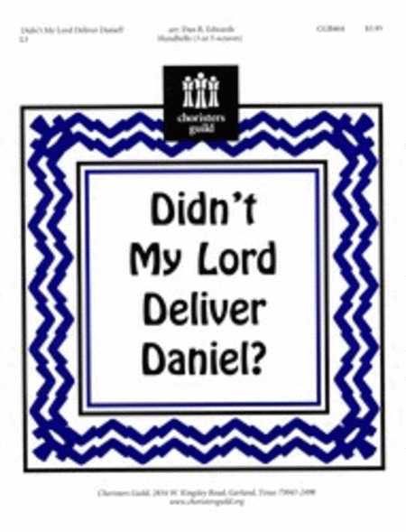 Cover of Didn't My Lord Deliver Daniel