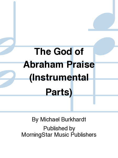 Cover of The God of Abraham Praise (Instrumental Parts)
