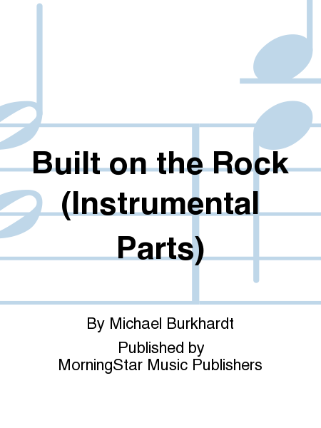 Cover of Built on the Rock (Instrumental Parts)
