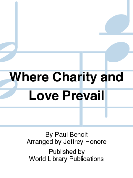 Cover of Where Charity and Love Prevail