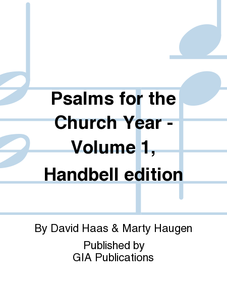 Cover of Psalms for the Church Year - Volume 1, Handbell edition