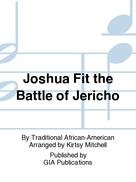 Cover of Joshua Fit the Battle of Jericho