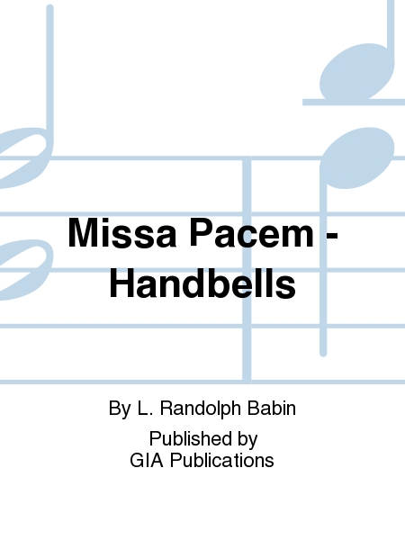 Cover of Missa Pacem - Handbells