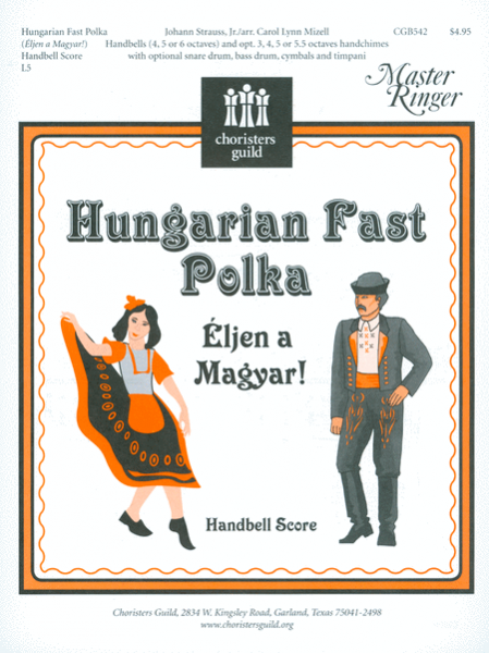Cover of Hungarian Fast Polka - Handbell Score