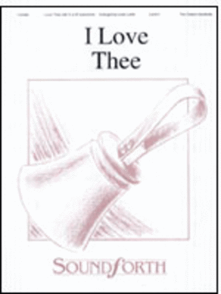 Cover of I Love Thee