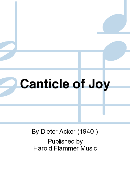 Cover of Canticle of Joy
