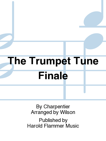 Cover of The Trumpet Tune Finale