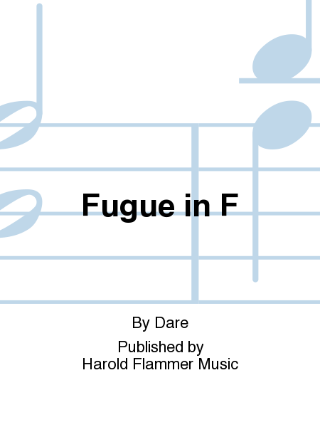 Cover of Fugue in F