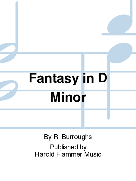 Cover of Fantasy in D Minor