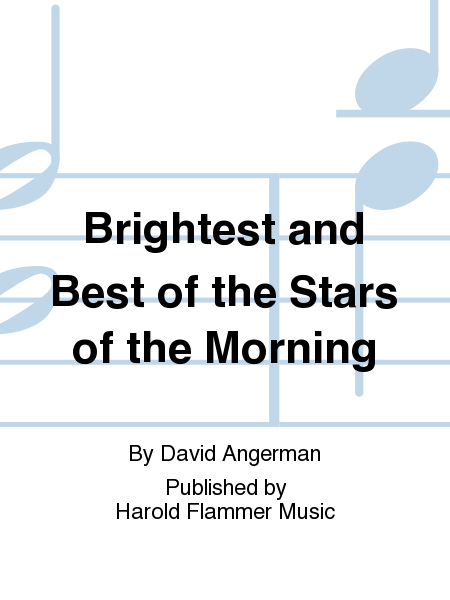 Cover of Brightest and Best of the Stars of the Morning