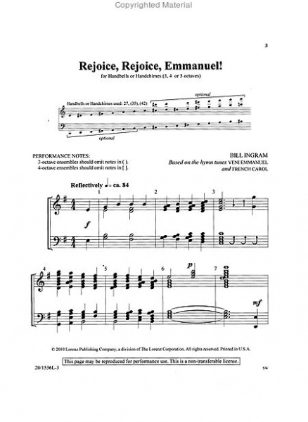 Page 1 of Hymns for Worship and Celebration