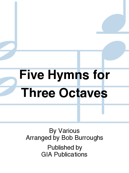 Cover of Five Hymns for Three Octaves