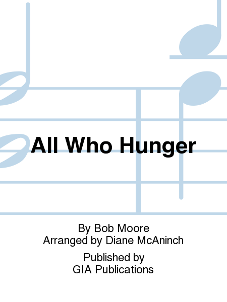 Cover of All Who Hunger