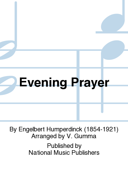 Cover from Evening Prayer from Hansel and Gretel