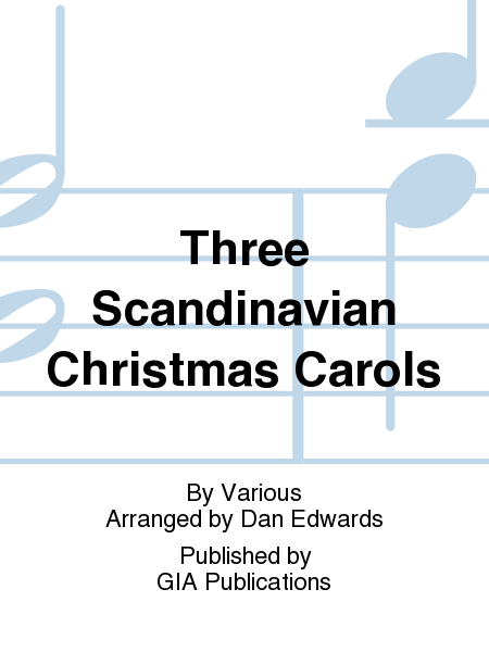 Cover of Three Scandinavian Christmas Carols
