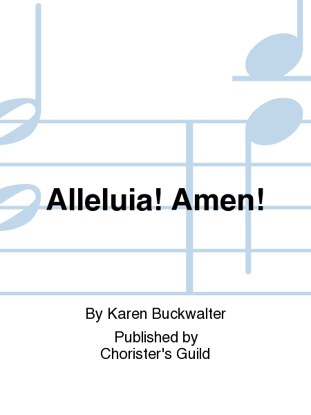 Cover of Alleluia! Amen!