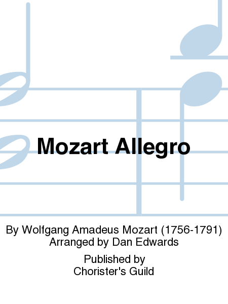 Cover of Mozart Allegro