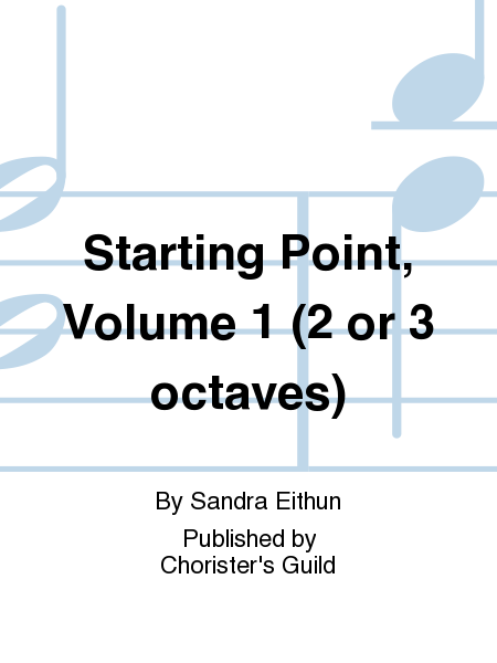 Cover of Starting Point, Volume 1 (2 or 3 octaves)