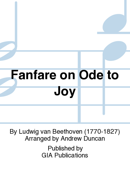 Cover of Fanfare on Ode to Joy