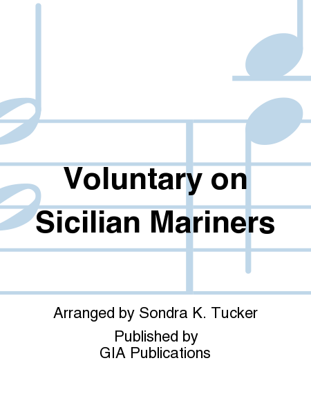 Cover of Voluntary on Sicilian Mariners