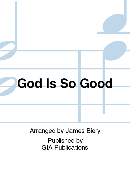 Cover of God Is So Good