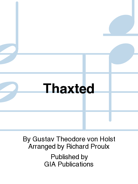 Cover of Thaxted
