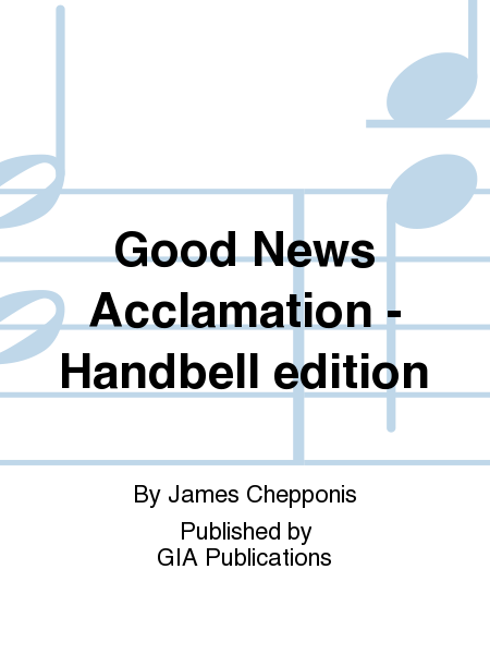 Cover of Good News Acclamation