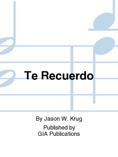 Cover of Te Recuerdo
