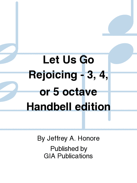 Cover of Let Us Go Rejoicing