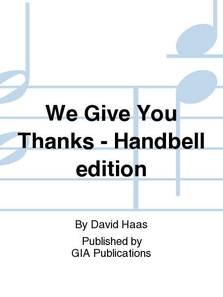 Cover of We Give You Thanks