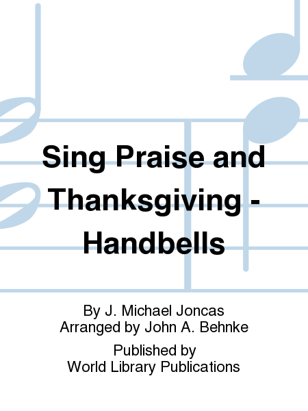 Cover of Sing Praise and Thanksgiving
