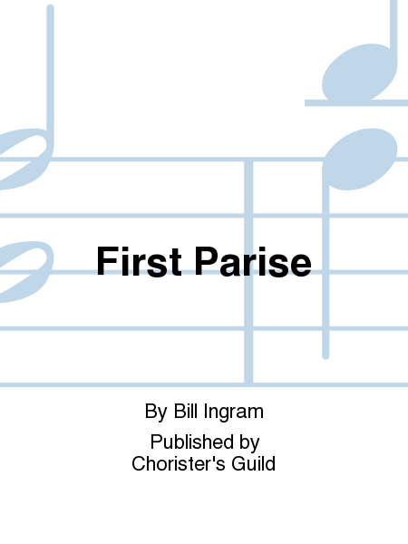 Cover of First Parise