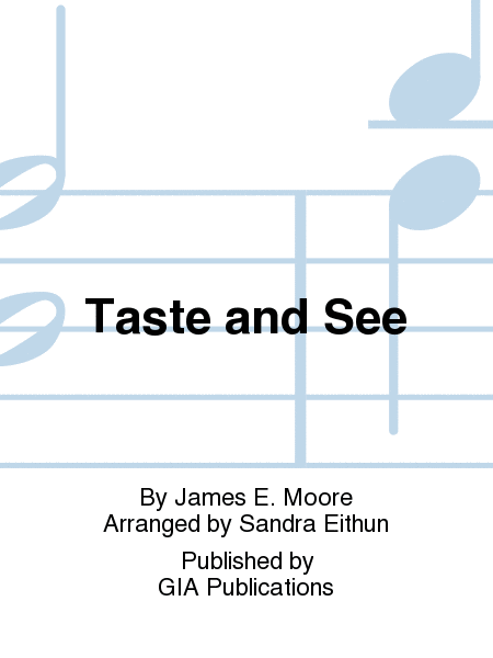 Cover of Taste and See