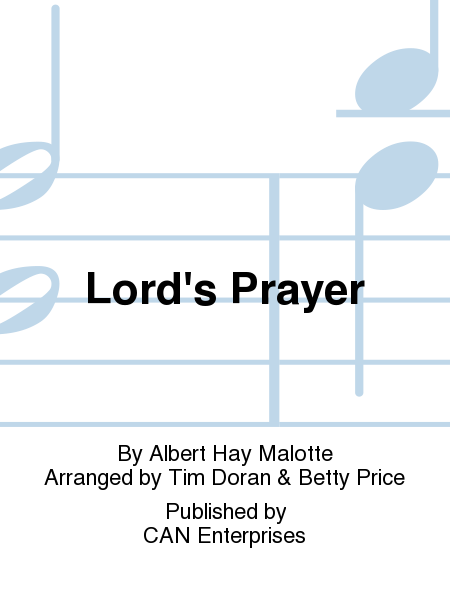 Cover of Lord's Prayer